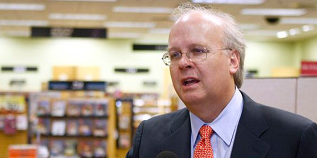 In this May 17 file photo, former White House adviser Karl Rove gestures in Oklahoma City, Okla. (AP Photo)