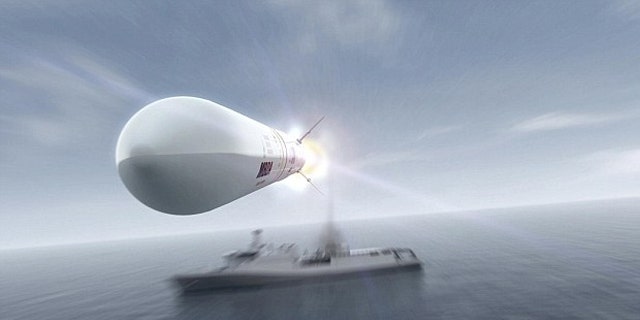 The 'Sea Ceptor' can reach speeds fo up to Mach 3