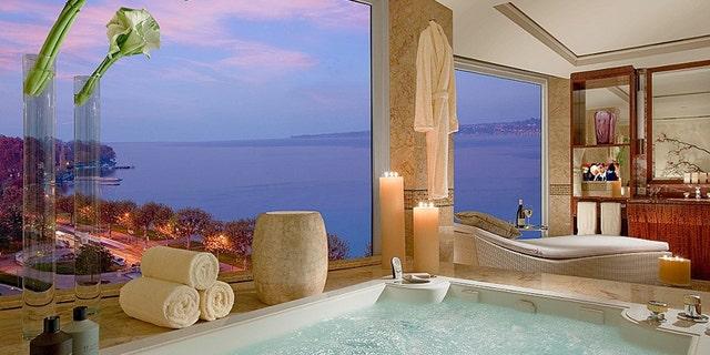 The Royal Penthouse at Hotel President Wilson in Geneva, Switzerland runs upwards of $80,000 per night.