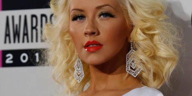 Christina Aguilera received the Community Hero award.