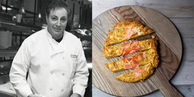Frittata Capellini for Il Mulino Restaurant NYC 2013
