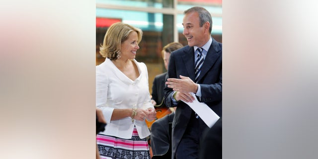 """Katie Couric and Matt Lauer co-hosted the """"Today"""" show for nine years."""