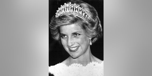 Princess Diana was photographed wearing the Queen Mary's Lover's Knot tiara, also often referred to as the Cambridge Lover's Knot tiara.