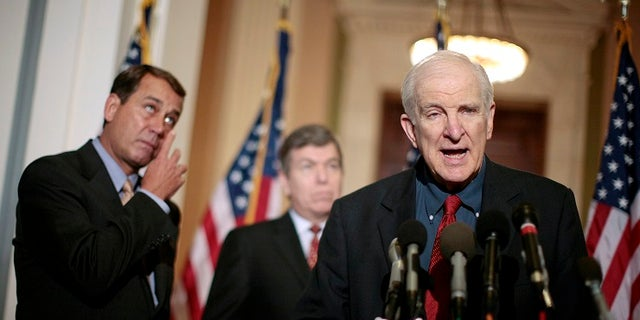 Longtime Rep. Sam Johnson, 86, is an Air Force veteran who served in Vietnam.