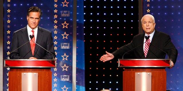 Mitt Romney lost the Republican presidential nomination in 2008 to Arizona Sen. John McCain.