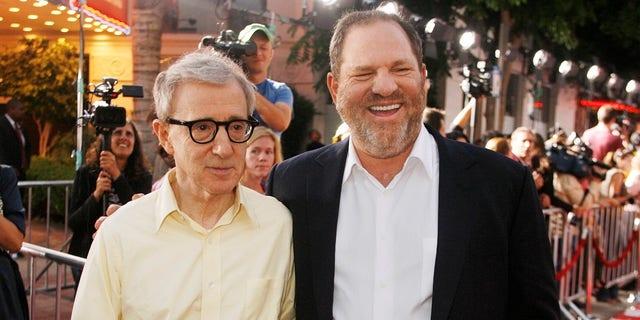 Woody Allen and Harvey Weinstein in 2008.