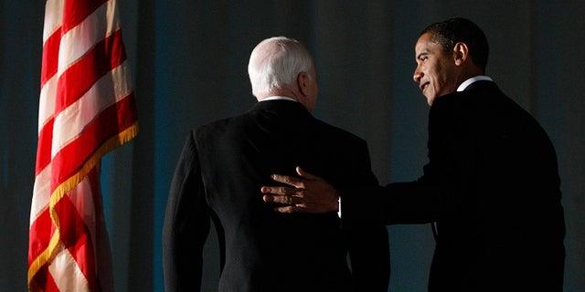 Republican presidential nominee lost the election to Democrat Barack Obama.