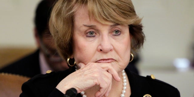 """Rep. Louise Slaughter, D-N.Y., was remembered as a """"trailblazer"""" and role model for women by her colleagues after her death."""