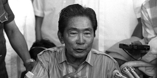 Ferdinand Marcos in 1985.