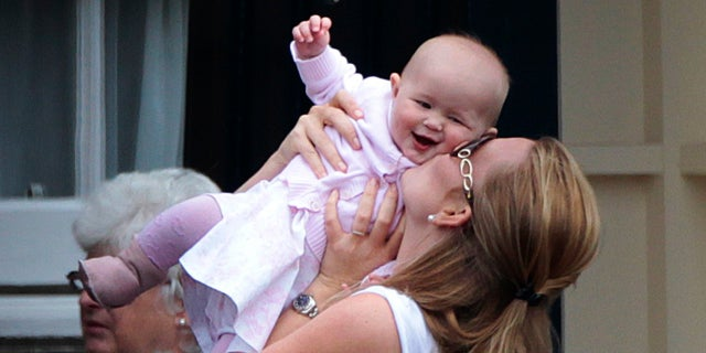 Savannah Phillips is the first child of Peter Phillips and the first great-grandchild of Queen Elizabeth II.