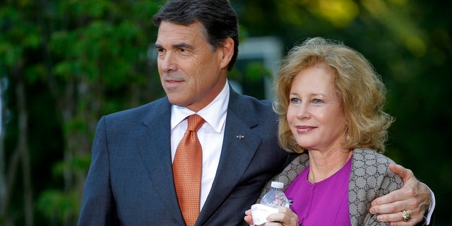 Rick Perry reportedly met his wife Anita in elementary school. They've been married since 1982.