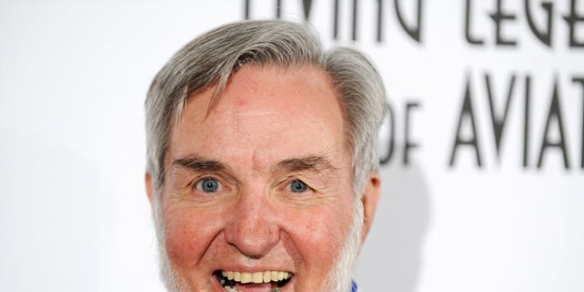 FILE -- Aircraft designer and winner of the Ansari X Prize Burt Rutan arrives at the 9th Annual Living Legends of Aviation awards in Beverly Hills, California, January 20, 2012.