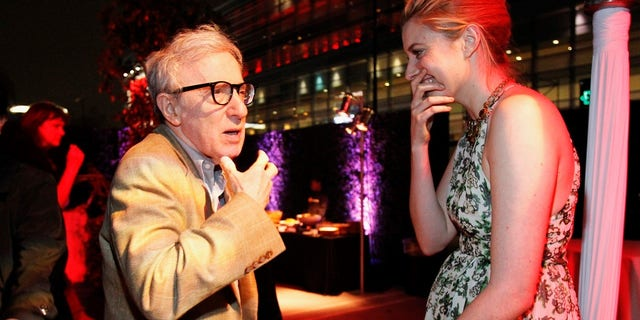 """Greta Gerwig and Woody Allen worked together in the 2012 film """"To Rome With Love."""""""