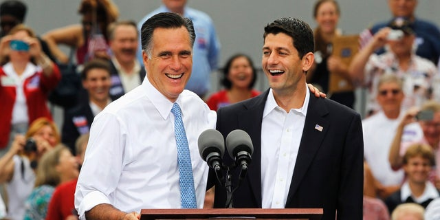 Mitt Romney was the 2012 GOP presidential nominee. Paul Ryan, now the House Speaker, was his running mate.
