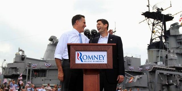In 2012, Paul Ryan was Republican presidential nominee Mitt Romeny's running mate.