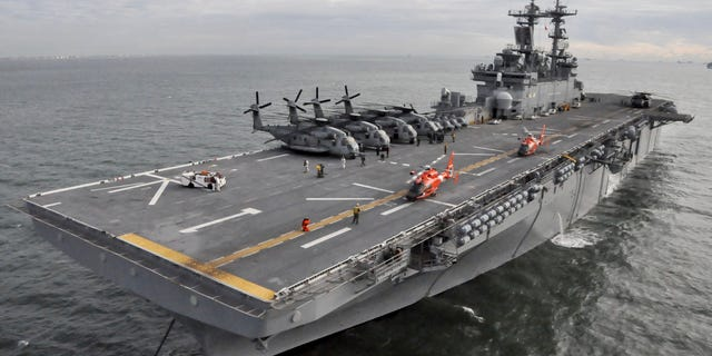 USS Wasp in 2012.