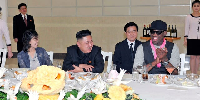 Dennis Rodman said Kim asked him during a previous visit to ask the U.S. president for three things.