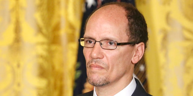 "DNC Chairman Tom Perez blasted HHS Secretary Tom Price after his resignation saying he was working to take away people's health care ""on the taxpayer's dime."""