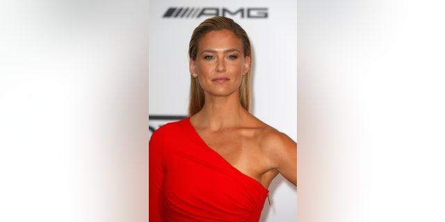 Israeli model Bar Refaeli arrives for amfAR's Cinema Against AIDS 2014 event in Antibes during the 67th Cannes Film Festival.
