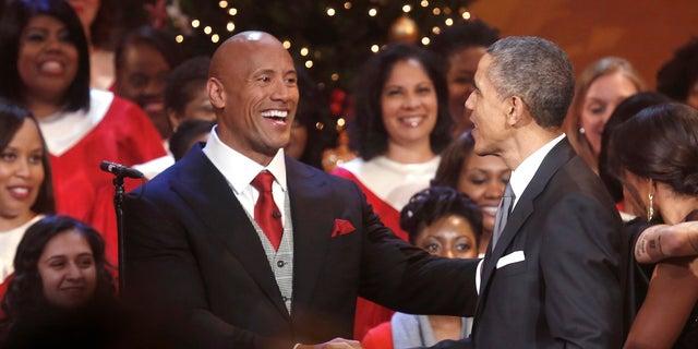 Dwayne Johnson, who was once a registered Republican, voted for former President Barack Obama twice.