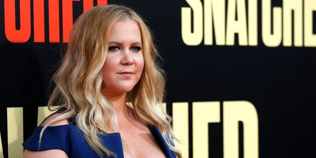 "Amy Schumer addressed the allegation made against her ""friend"" Aziz Ansari in a podcast on Thursday."