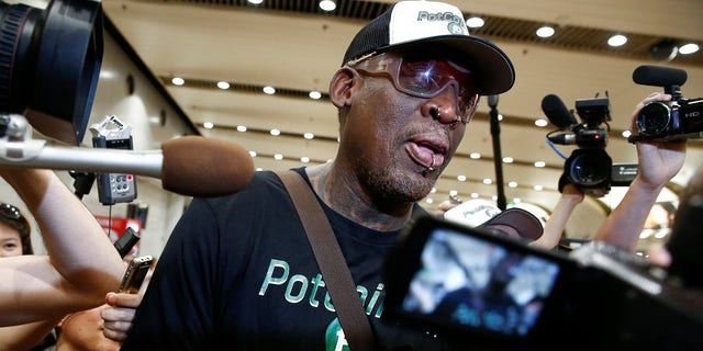 Dennis Rodman has visited North Korea five times.