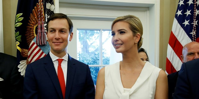 Jared Kushner and Ivanka Trump, the president's daughter, married in 2009.