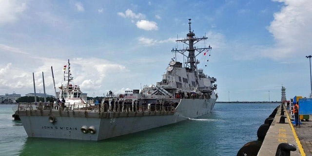 Ten sailors died when the USS John S. McCain collided with a merchant vessel off the coast of Singapore.