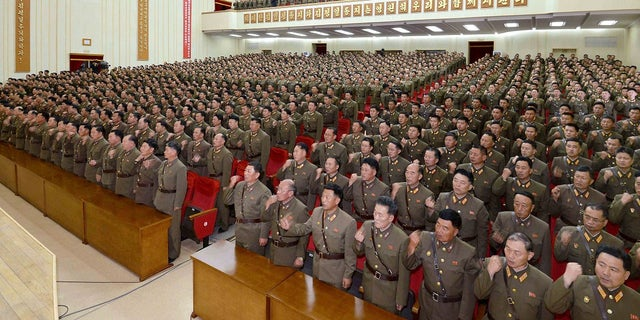 North Korea claimed more than 4 million people signed up for the country's military since last week to combat U.S. forces.
