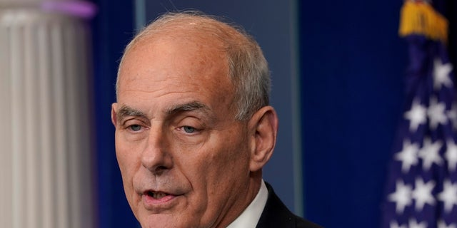John Kelly took over as White House chief of staff in July 2017.