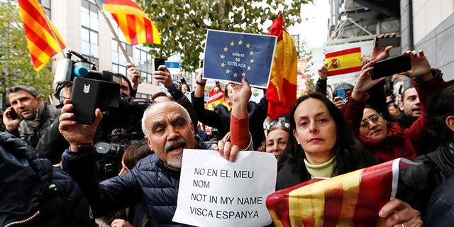 The Spanish government moved to put Catalonia's secessionist leaders on trial for alleged crimes.