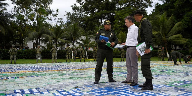 The seizure comes as the United States and the United Nations have raised concerns over an increase in coca cultivation.