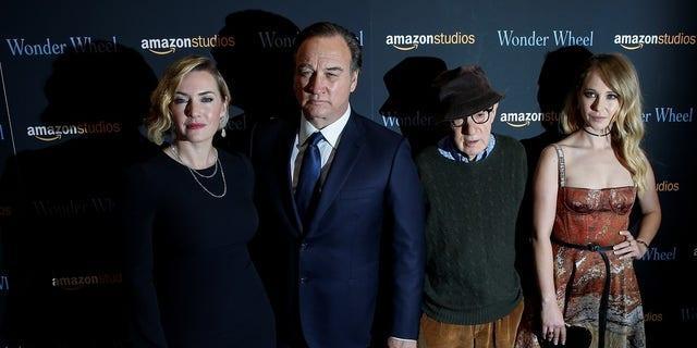 "Kate Winslet worked with Woody Allen in the film ""Wonder Wheel."""