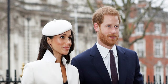 Meghan Markle attended her first official event with Queen Elizabeth II on Monday.