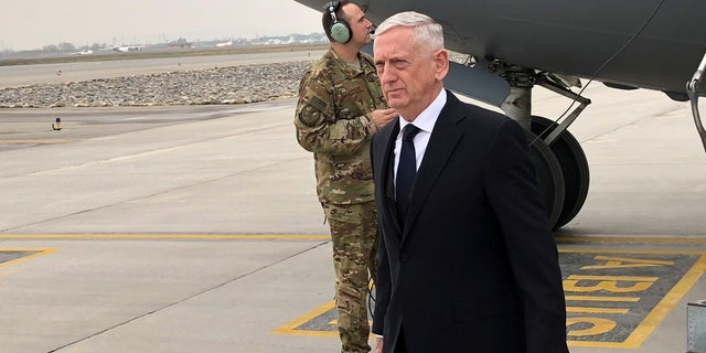 Jim Mattis joined the Marine Corps Reserve when he was 18 years old.