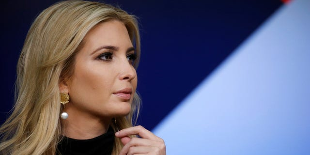 FILE -- White House senior adviser Ivanka Trump takes part in a forum called Generation Next at the Eisenhower Executive Office Building in Washington, March 22, 2018.