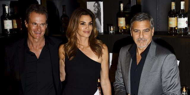 George Clooney and Rande Gerber, who is married to Cindy Crawford, have been longtime friends.