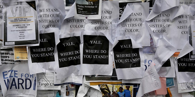 More than 1,000 students, professors and staff at Yale University gathered to discuss race and diversity after the incident.