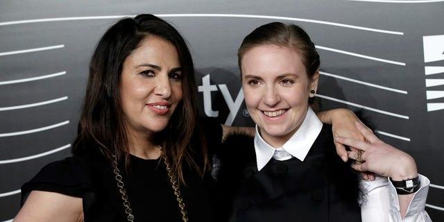 Lena Dunham and Jenni Konner, founders of Lenny Letter.