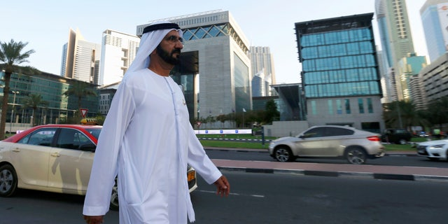 Sheikh Mohammed Bin Rashid al-Maktoum in May.
