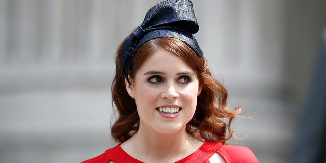 Prince Eugenie, 28, is Prince Andrew's youngest daughter.