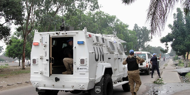 Fourteen UN peacekeepers were killed and 40 others injured after rebels attacked a base in eastern Congo.