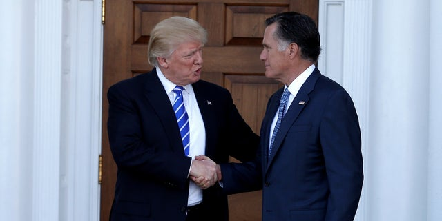 Although President Trump and Mitt Romney often clashed, Romney was rumored to be his secretary of state.