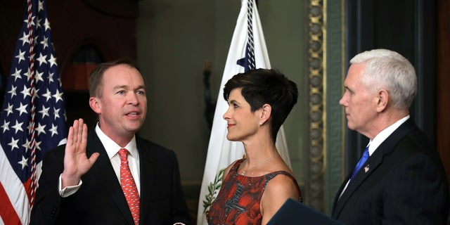 Mick Mulvaney and his wife, Pamela, are the parents to triplets.
