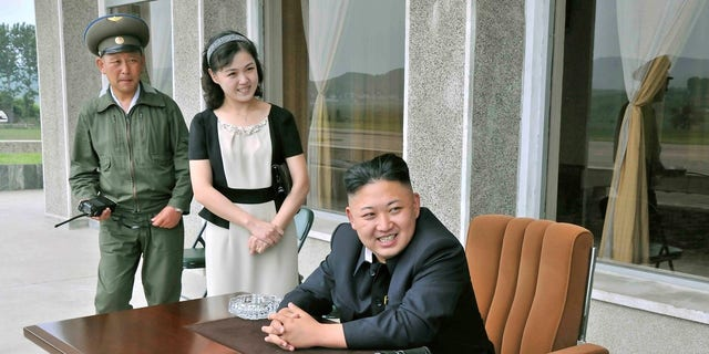 Ri Sol Ju in 2013, a year after the world found out she was Kim's wife.