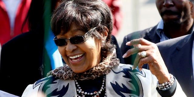 Winnie Mandela died on Monday at age 81.