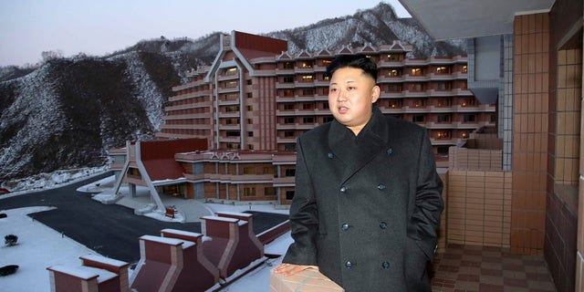 "North Korean propaganda said ""Masikryong Ski Resort is a world-class one that lacks for nothing."""