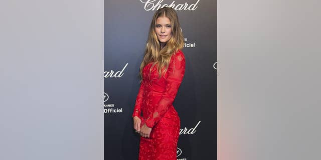Danish supermodel Nina Agdal wowed Instagram on Thursday with a series of snaps taken on the beach after a run.