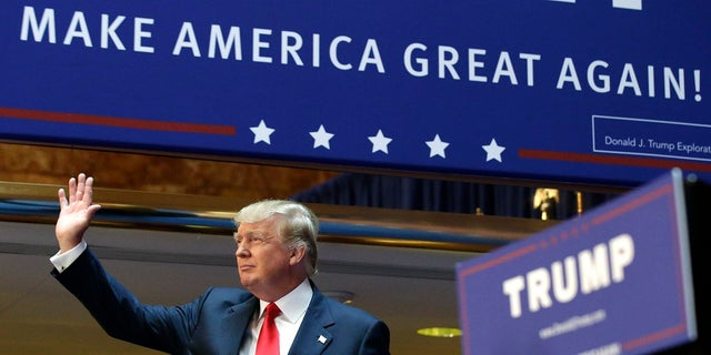 Donald Trump announced in June 2015 that he was running for president. In his speech, he promised to build a wall along the U.S.-Mexico border.