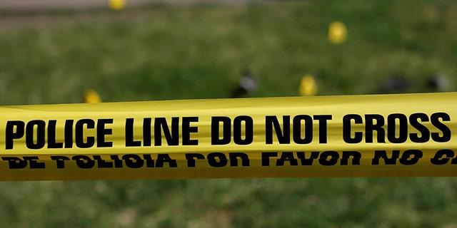 Police tape marks a crime scene in Dallas in 2016.